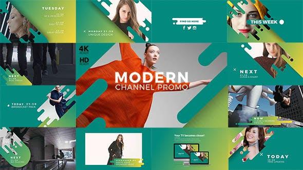 Thumbnail for Modern Channel Promo v2