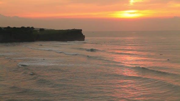 Thumbnail for Balangan Beach at Sunset. Bali, Indonesia.