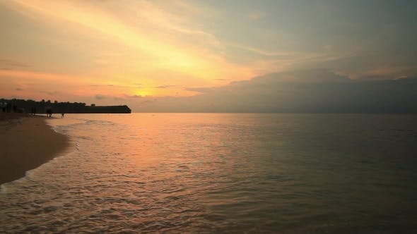Thumbnail for Balangan Beach at Sunset in Bali, Indonesia