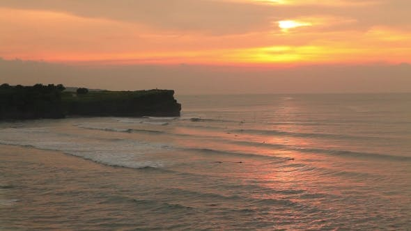 Thumbnail for Balangan Beach at Sunset. Bali, Indonesia.