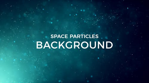 Space Particles Background