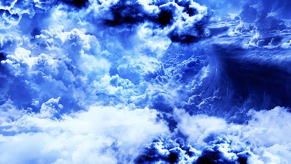 Thumbnail for Abstract White and Blue Clouds in the Daytime Sky
