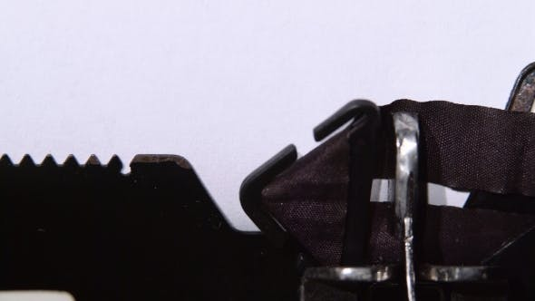 Thumbnail for Possible Is the Word on a Typewriter.