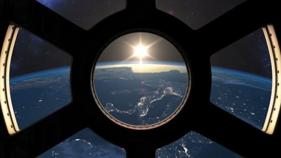 Cover Image for Slow Sunset Seen From the ISS