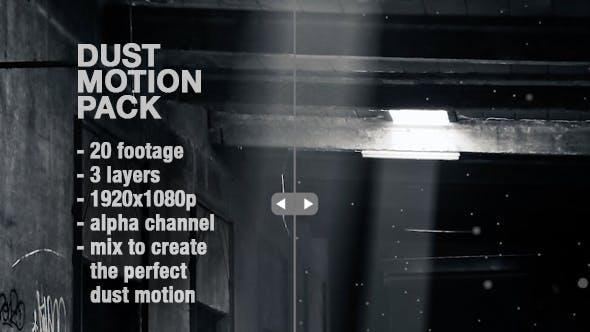Dust Motion - Organic Dust Particles