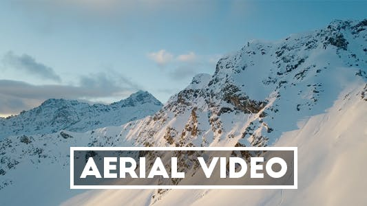 Thumbnail for Aerial Video of a Mountain during Sunrise