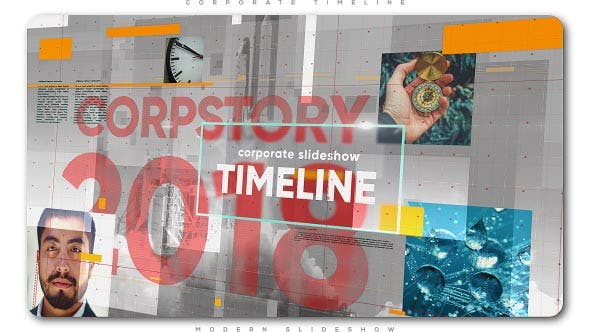 Thumbnail for Corporate Timeline Slideshow
