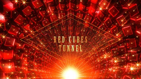 Thumbnail for Red Cubes Tunnel