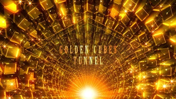 Thumbnail for Golden Cubes Tunnel