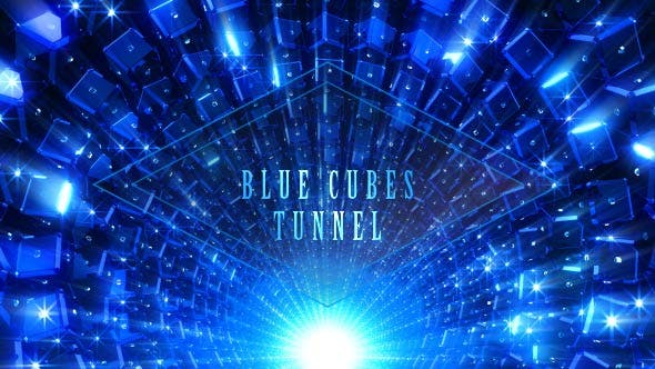 Thumbnail for Blue Cubes Tunnel