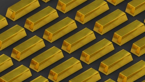 Gold Bars and Riches
