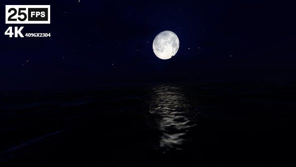 Thumbnail for Sea Night 01 4K