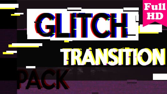 Thumbnail for Glitch Transition Pack