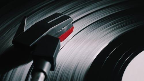 Retro Record Vinyl Player.