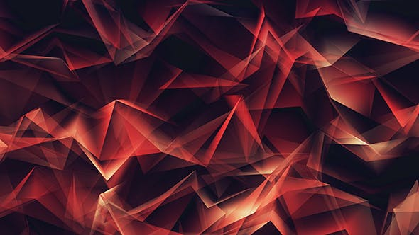 Thumbnail for Abstract Red Glowing Lines Geometrical Refraction