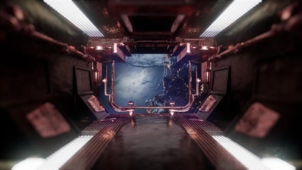 Thumbnail for Ride in a Spaceship Tunnel