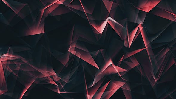 Thumbnail for Dark Purple Triangles Motion Background