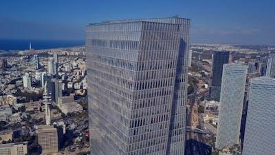 Flyover Tel Aviv Israel