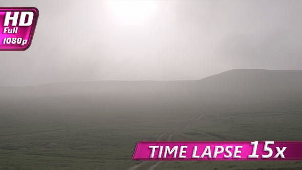 Thumbnail for Morning Mist Floating Over the Hills