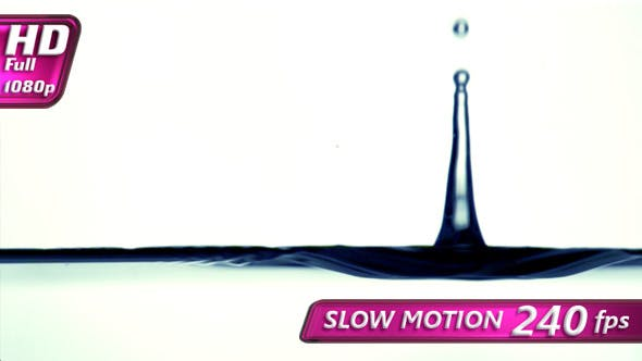 Thumbnail for Falling Water Drops