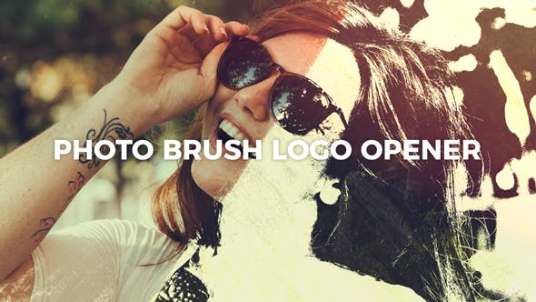 Thumbnail for Photo Brush Logo Opener