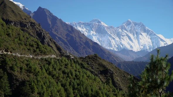 Thumbnail for The Way To the Everest in the Himalayas