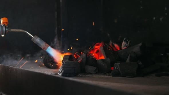 Thumbnail for Ignition of Charcoal in the Barbecue Oven