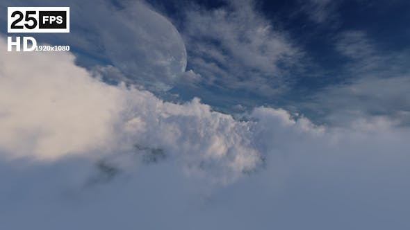 Thumbnail for Flying Through Clouds 02 HD