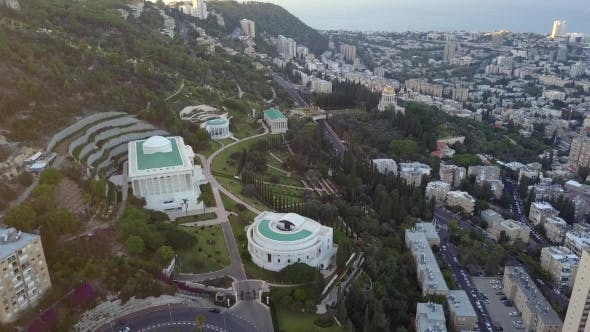 Thumbnail for Flyover of a Park in Israel During the Summer