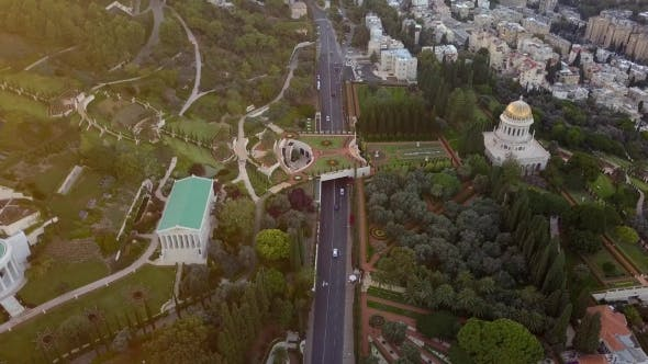 Cover Image for Flyover of a Park in Israel During the Summer