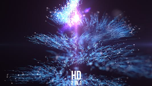 Thumbnail for Spiral Particles