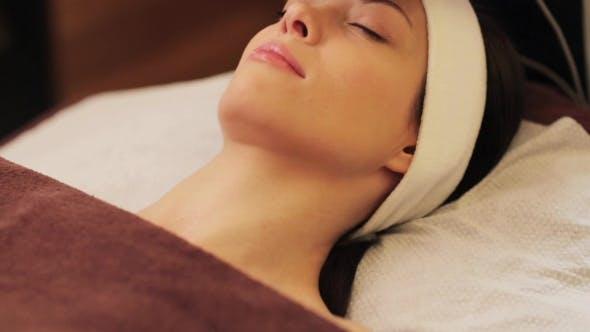 Thumbnail for Young Woman Having Face Microdermabrasion at Spa 8