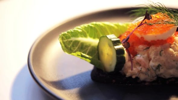 Thumbnail for of Toast Skagen with Caviar and Bread 27
