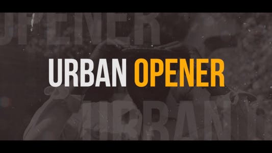 Cover Image for Dynamic Urban Opener