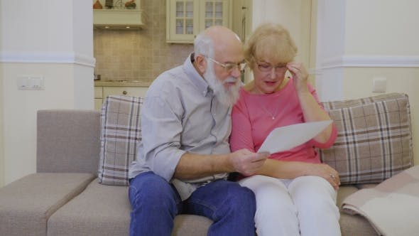 Thumbnail for Senior Man Shows Rent Bills To His Wife