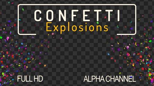 Confettis Burst