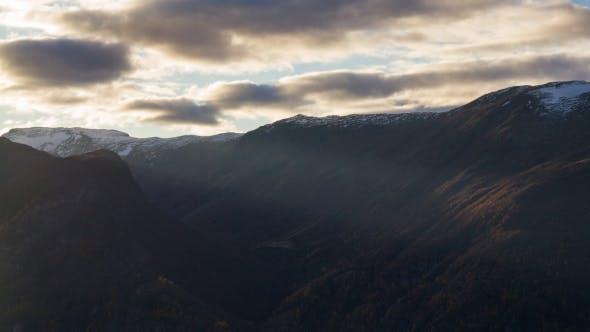 Thumbnail for Dramatic Sunlit Landscape