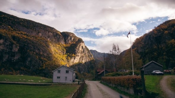 Thumbnail for Village Under Cliffs