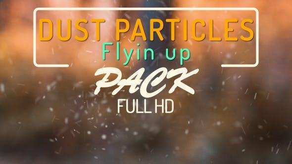 Thumbnail for Staubpartikel fliegen nach oben