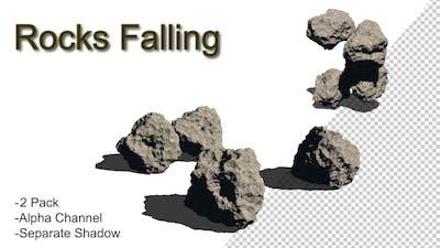 Rocks Falling