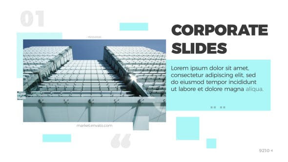 Thumbnail for Corporate Slides