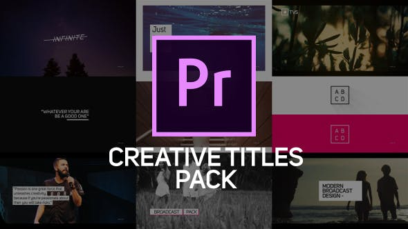 Thumbnail for Creative Titles & Lower Thirds for Premiere Pro