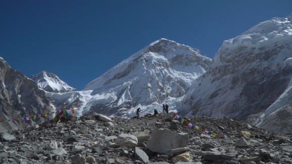 Thumbnail for Tourists Near Mount Everest