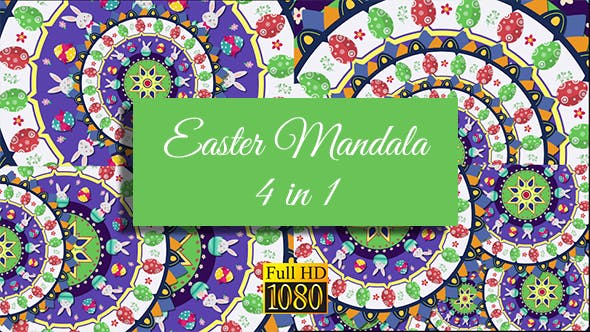 Thumbnail for Easter Mandala Pack 2
