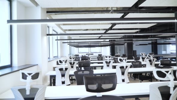 Thumbnail for The Spacious Black and White Office