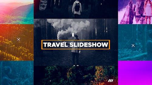 Reise-Diashow