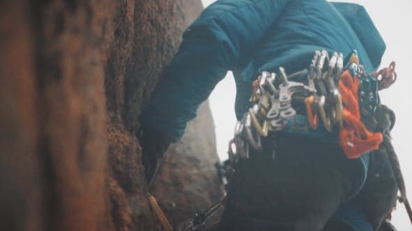 Thumbnail for Climber on the Wall.