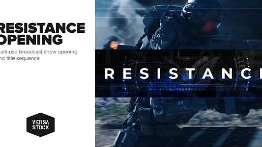 Thumbnail for Resistance | Show Opening Title Sequence