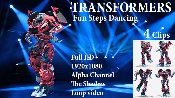 Thumbnail for Fun Steps Dancing Robot