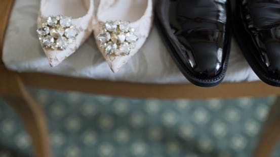 Thumbnail for Bride Dresses Wedding Shoes